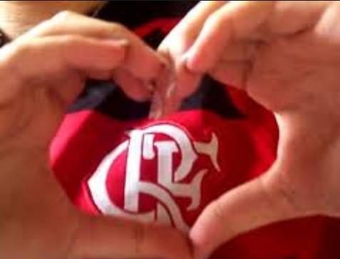 Coração gay dos flamenguistas