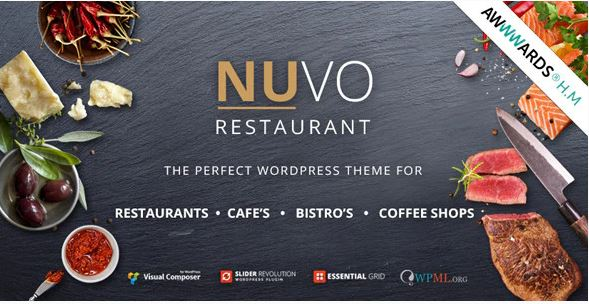 Restaurant Website Templates WordPress