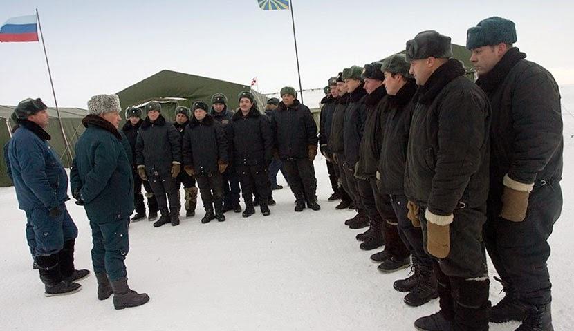 Военные городки в Арктике