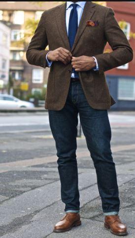 Men's tweed jacket