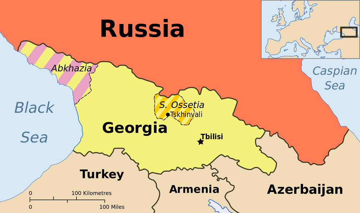 У 2008 році Москва визнала незалежність грузинських автономій - Абхазії і Південної Осетії (Цхінвальського регіону), а Тбілісі надав цим регіонам статус окупованих територій.