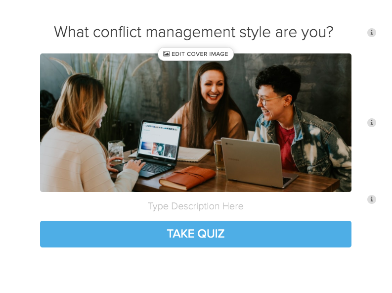 adding image to quiz cover