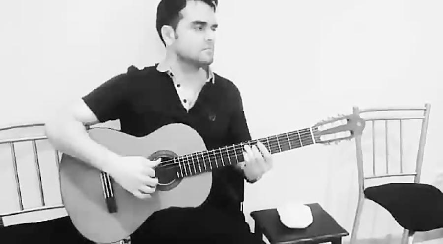 تکنوازی فلامنکو گیتار فرزین نیازخانی