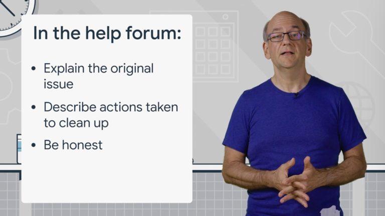 Cómo trata Google las acciones manuales y solicitudes de reconsideración 2