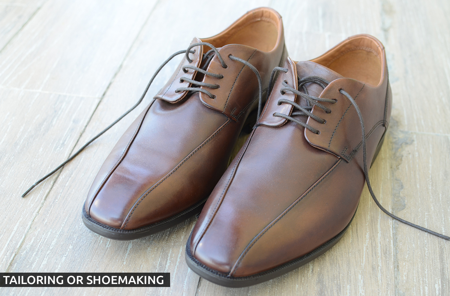 tailoring or shoemaking