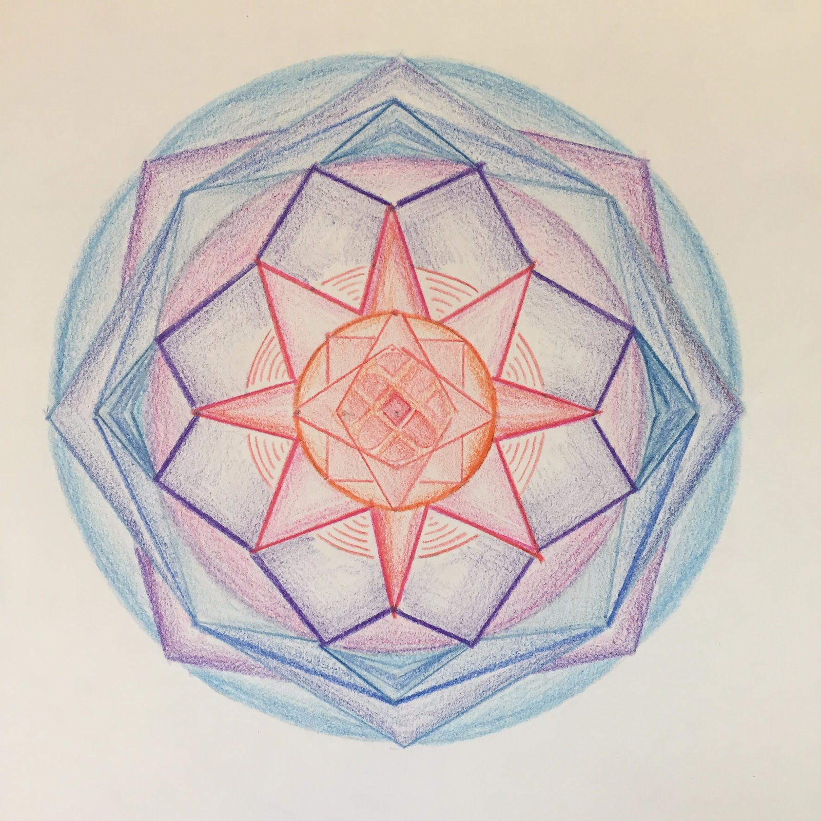 Pictured Below A Mandala That I Created As Break From Writing My Dissertation
