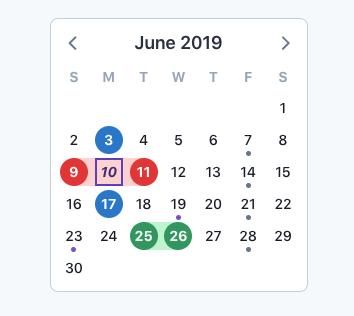 V-calendar