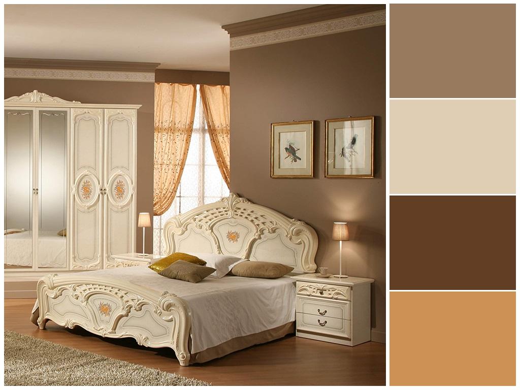 Phòng ngủ màu kem 2