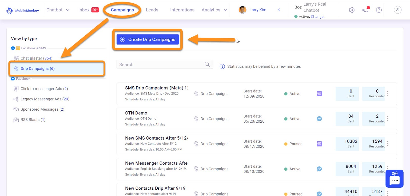 Instagram direct message marketing: Drip Campaigns