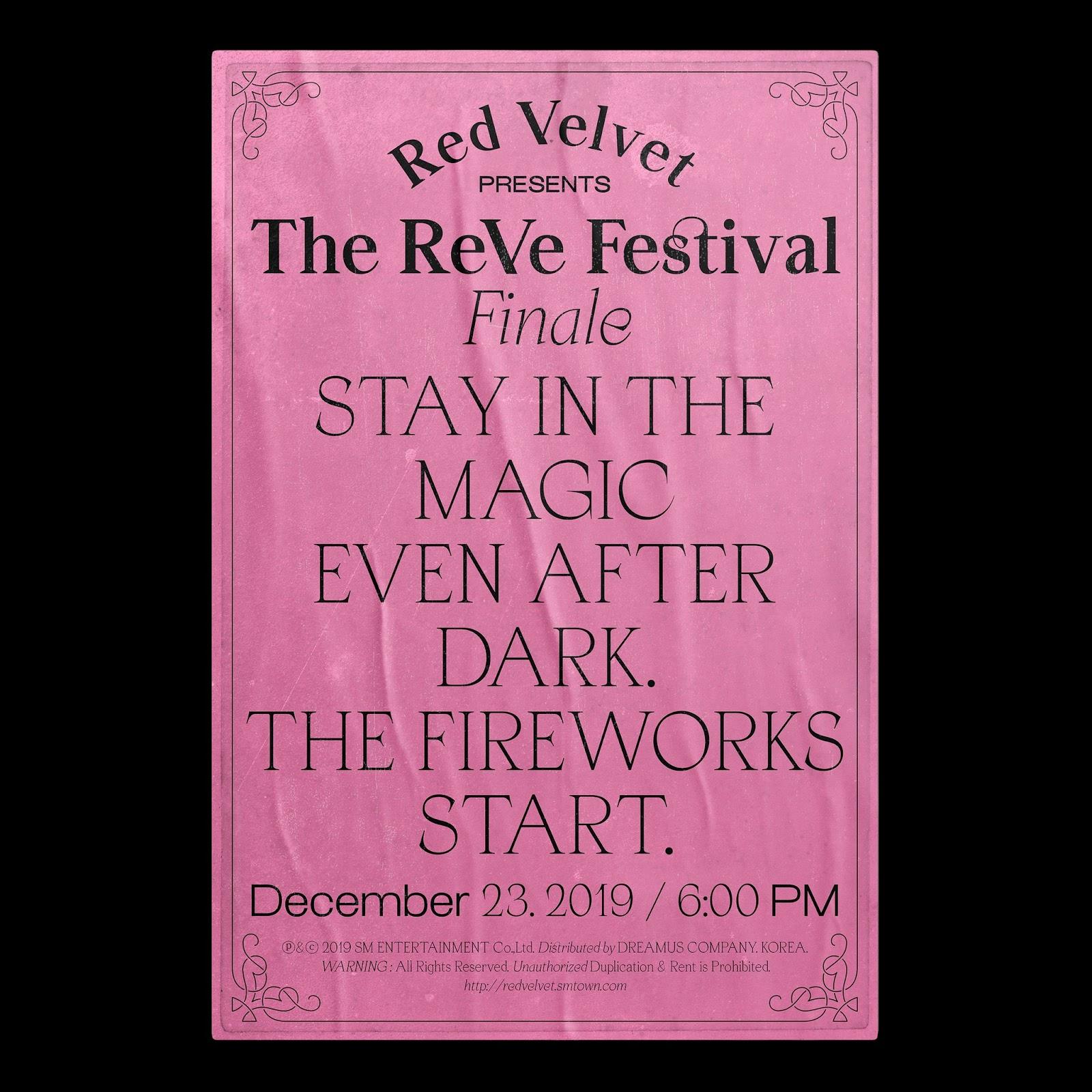 Red Velvet Merilis Teaser Album Repackage The ReVe Festival Finale, Mulai dari Yeri!
