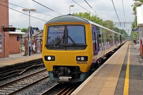 Image result for cheadle hulme train station