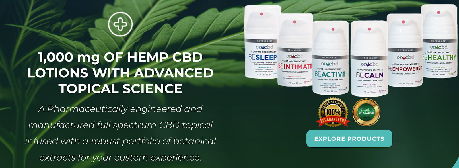 HerbTech Pharmaceuticals | Influencer Collabs to Promote CBD Lotions