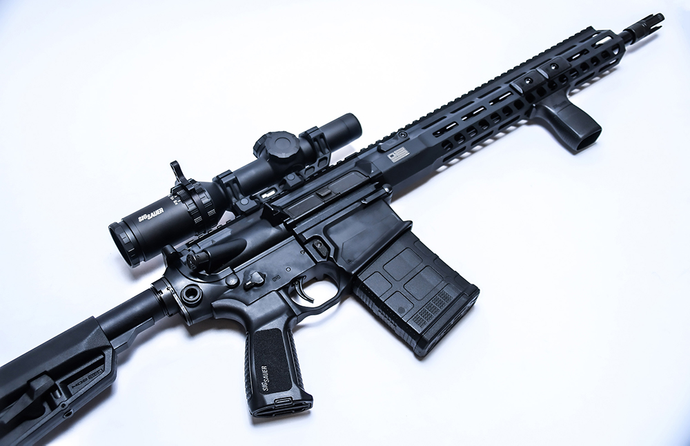 ar10 rifle chambered in 308 win