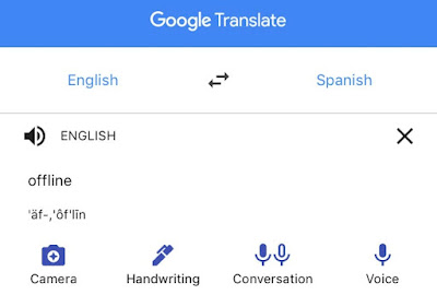 Translate to Arabic, Google