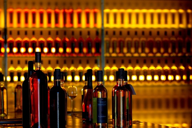 Degustation of Wine Sorts would be nice idea in the evening of 14th February. Don't stay late in the bar!