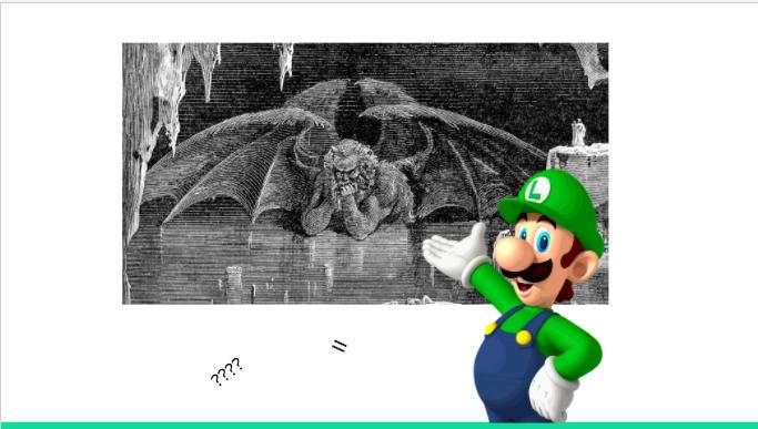 Luigi's Mansion Dante's Inferno - punisher