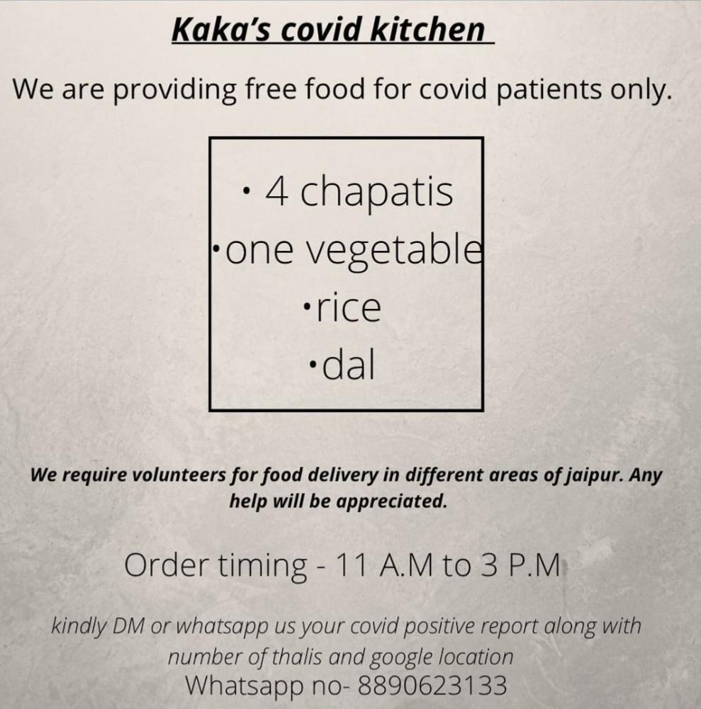 Kaka's Covid Kitchen