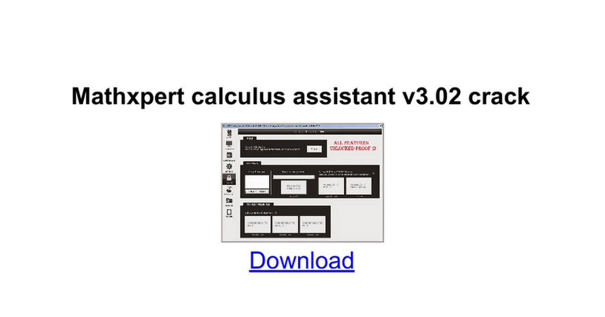 Mathxpert Calculus Assistant V3.02.sh