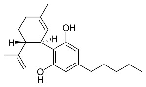(−)-Cannabidiol CBD-C5