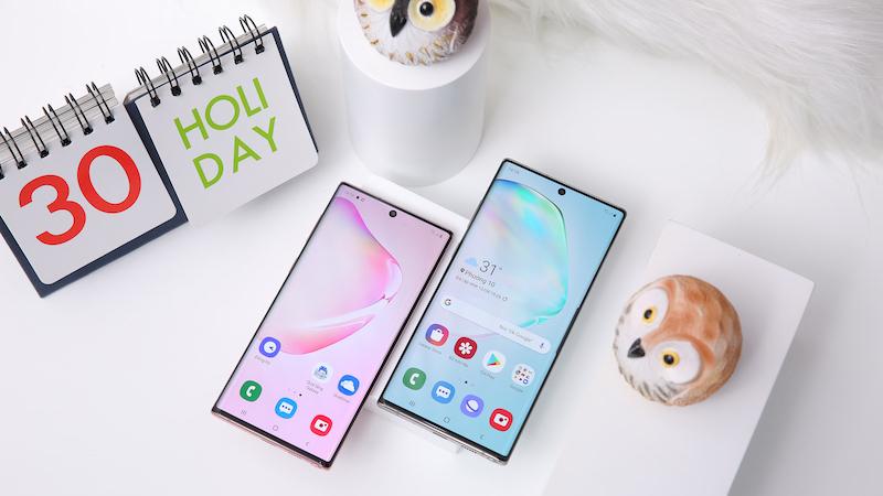 Điện thoại Samsung Galaxy Note 10+ | Thiết kế màn hình lớn