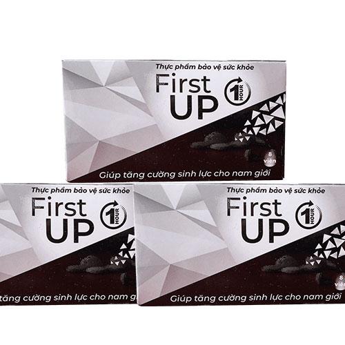 Đánh giá FIRST UP 1H Viên ngậm tăng cường sinh lý nam