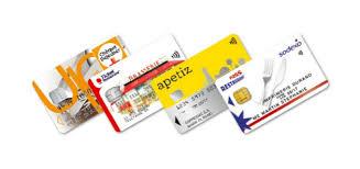 """Résultat de recherche d'images pour """"carte ticket restaurant"""""""