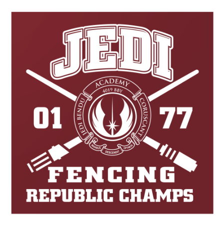 Jedi Fencing Champs Poster