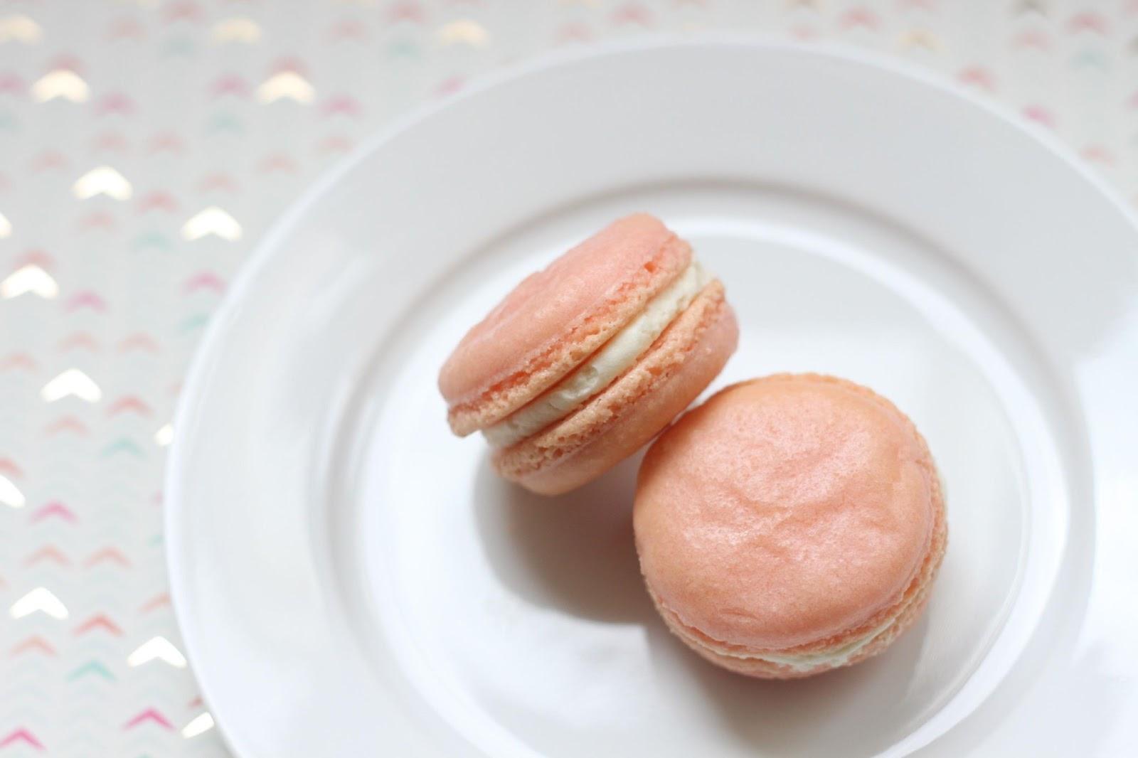 pink macaron