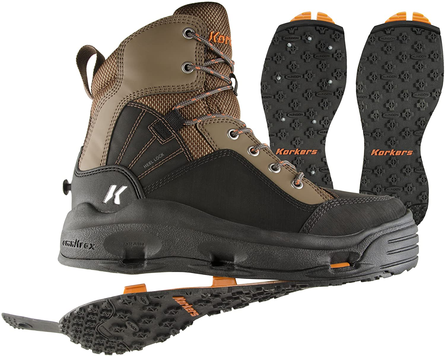 Korkers fly fishing wading boots