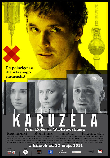 Polski plakat filmu 'Karuzela'