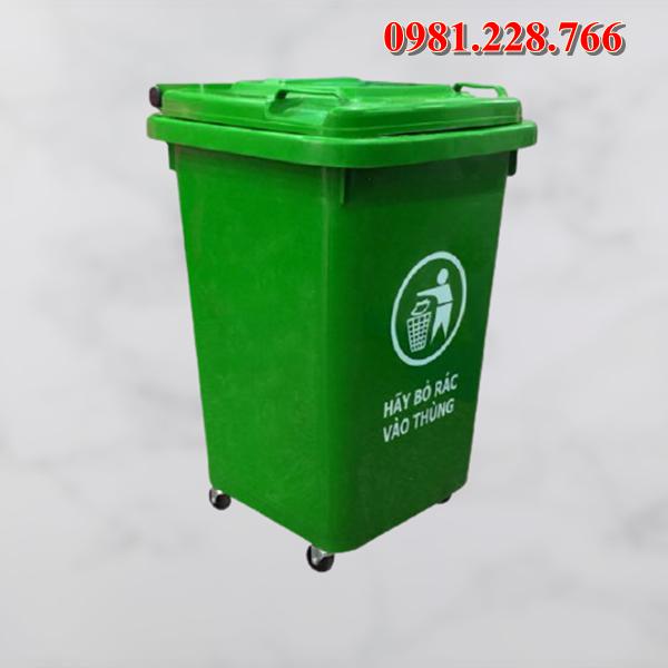Cập nhật bảng báo giá thùng rác HDPE 60l mới nhất 2020 tại Thái Bình