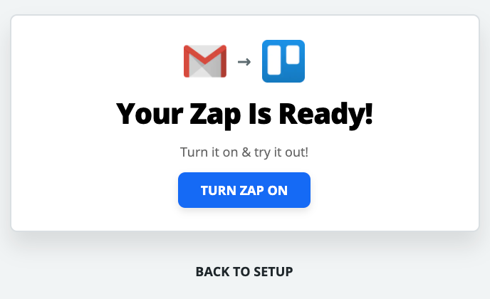 testing out your Zap in Zapier