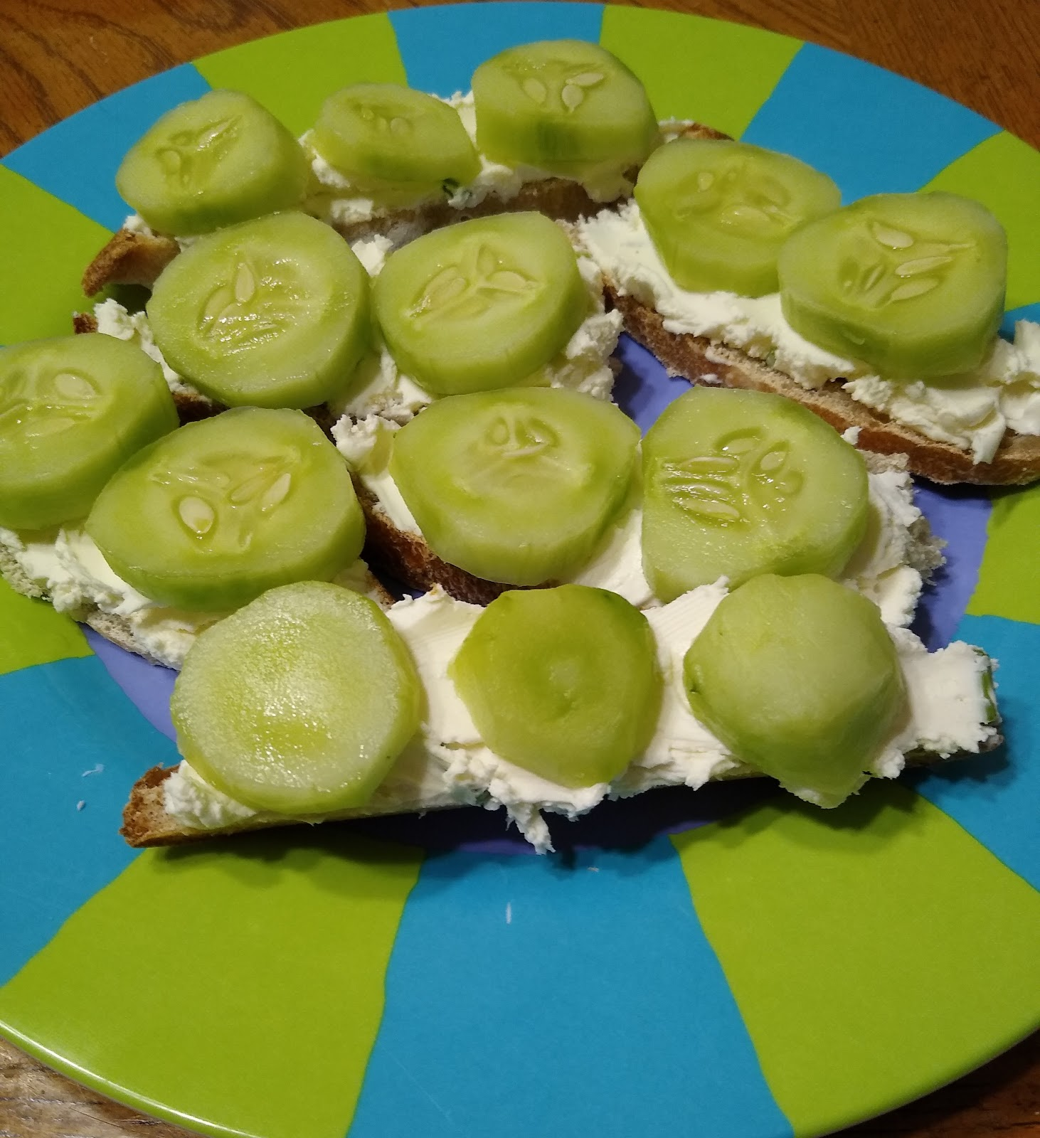 cucumber sandwiches recipe picture