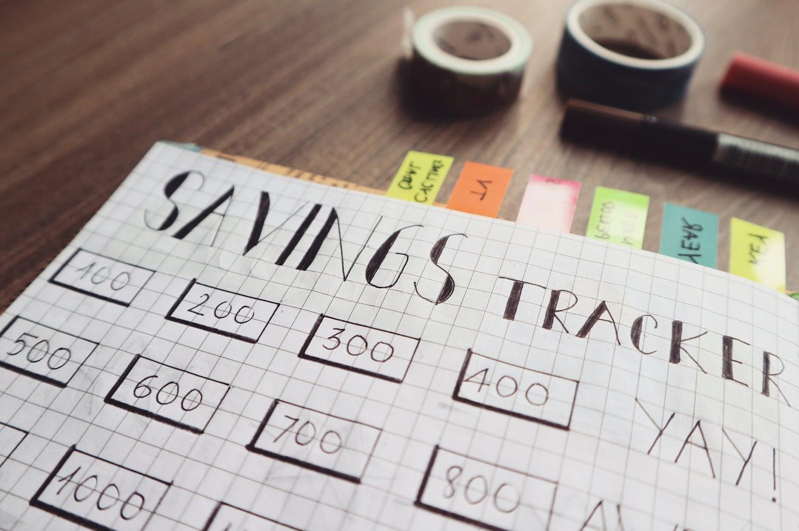 how to make a budget saving money