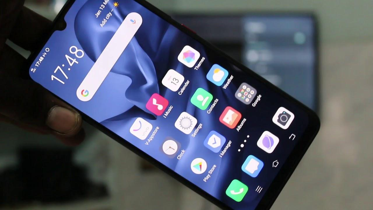 How to do screen mirroring in Vivo S1 Pro - YouTube