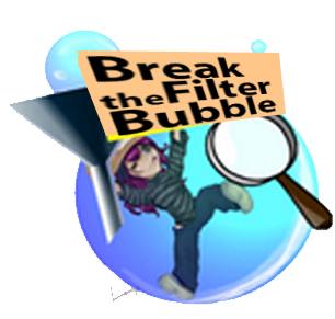 Avoid Filter Bubbles Badge