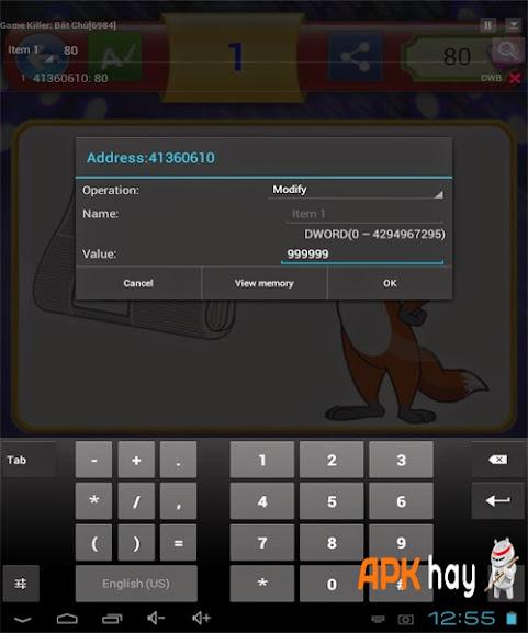 7Hướng dẫn hack game Bắt Chữ -Duoi Hinh Bat Chu Android
