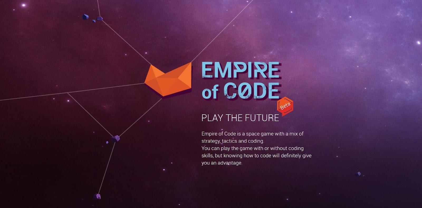 скриншот игры Empire of Code