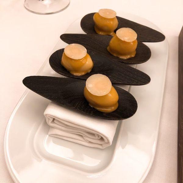 THOMAS.簡 法式餐廳 餐點:煙燻鵪鶉蛋