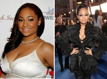 Raven-Symone, beautiful before and after
