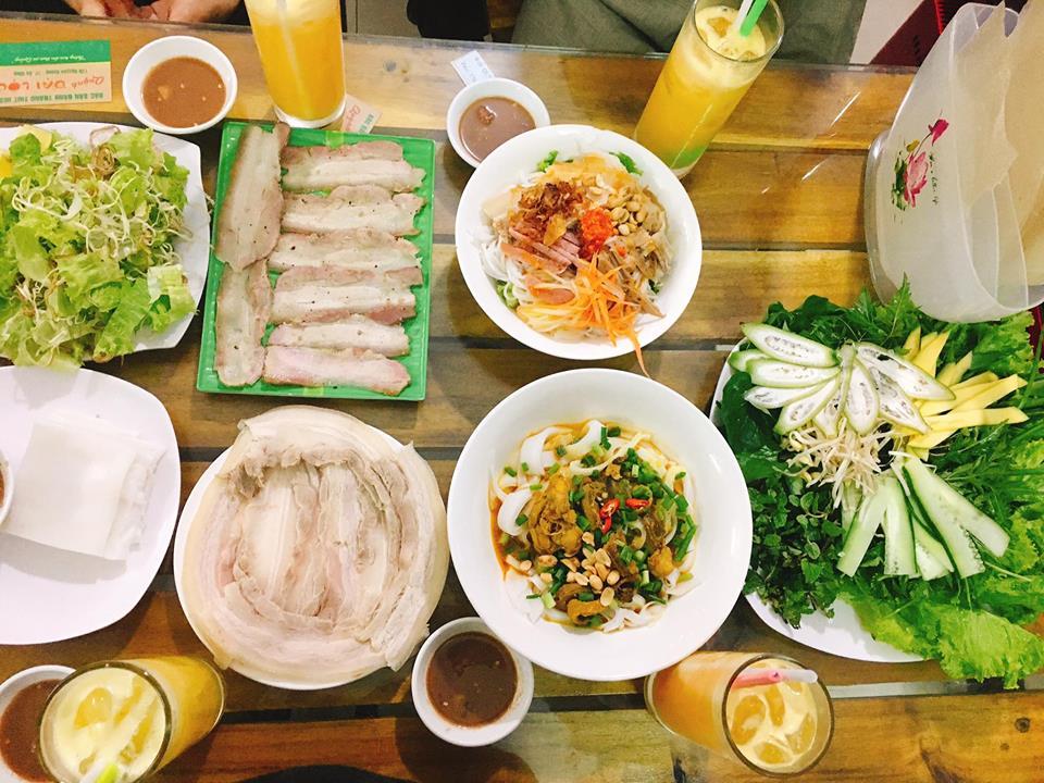 Bánh tráng cuốn thịt heo ở Đà Nẵng - món ăn đầy sự độc đáo