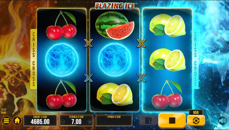 Blazing Ice výhry