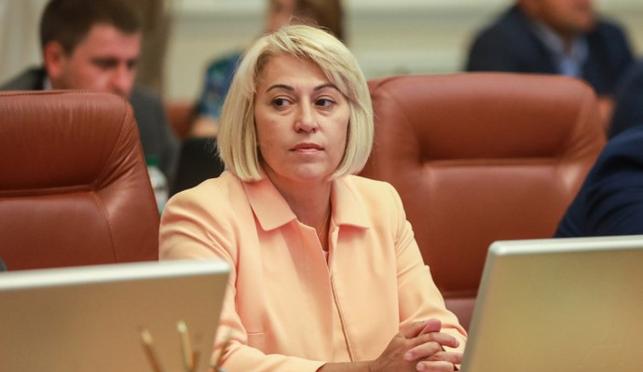 Міністерка розвитку громад і територій Альона Бабак першою в уряді Гончарука написала заяву про звільнення