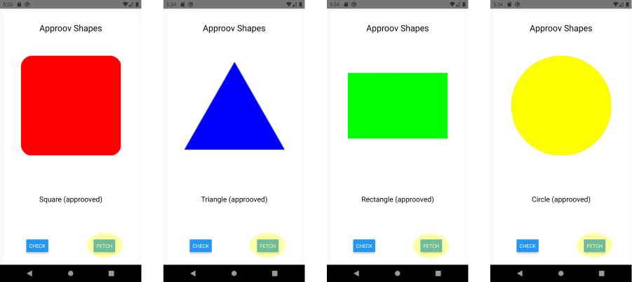 Example Shapes App
