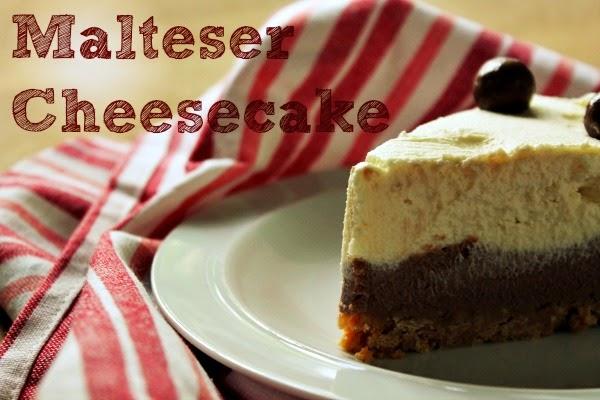 how to make malteser cheesecake
