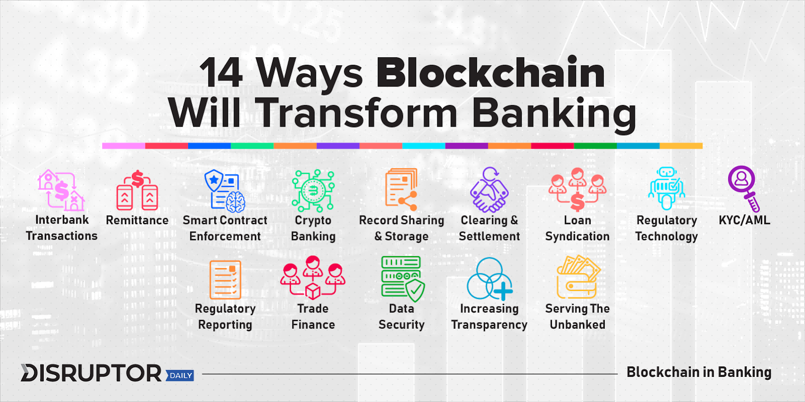 Why with blockchain banks don't have to exist anymore