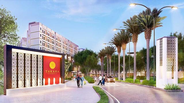 Dự án takara residence bình dương thừa hưởng những tiện ích của Thủ Dầu Một