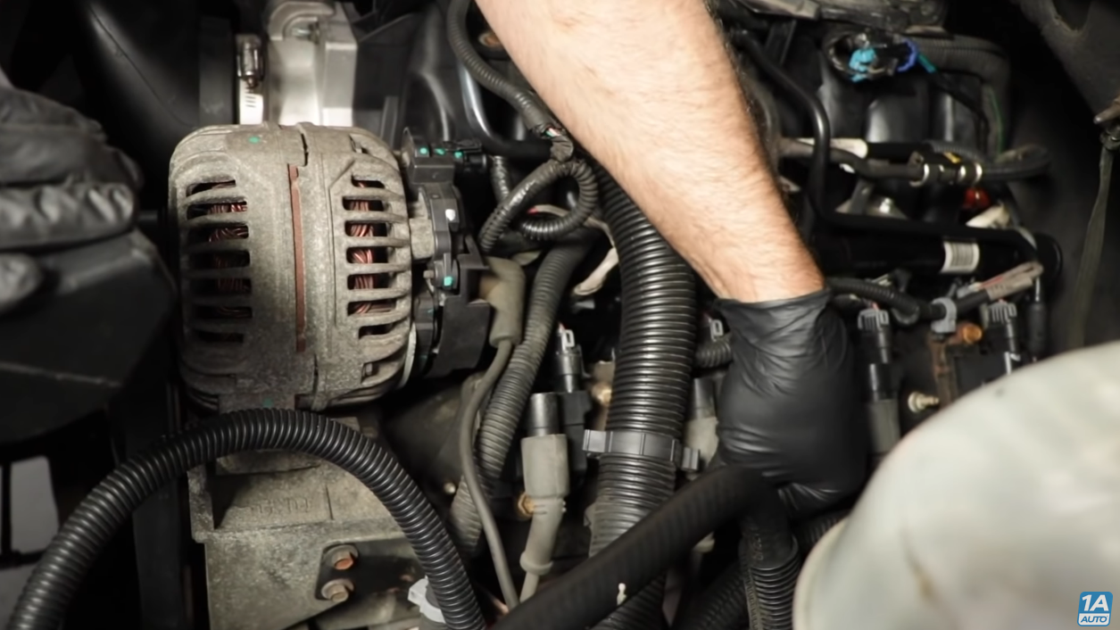 checking electrical connectors on engine to diagnose car problems