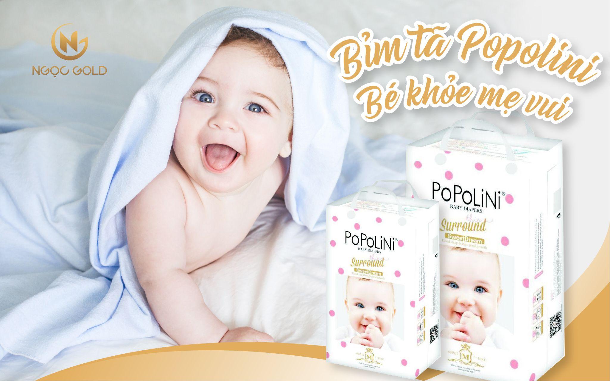 Bỉm/tã Popolini - Bé khỏe mẹ vui