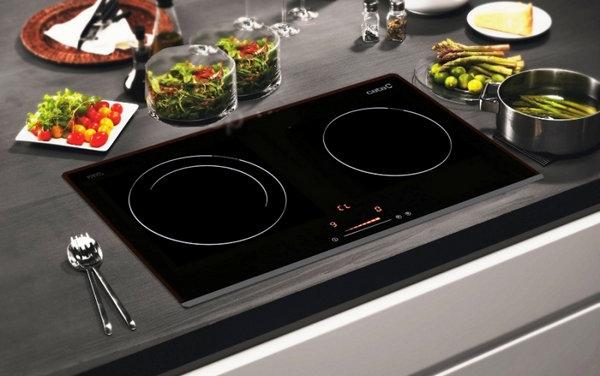 Bếp từ đôi có đa chức năng nấu nướng